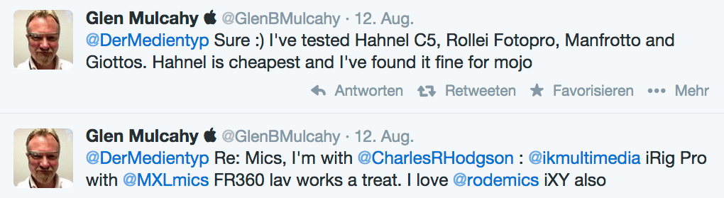 """Glen Mulcahey empfiehlt im Blog """"dermedientyp"""" seine Top-3-Smartphone-Accessoires."""