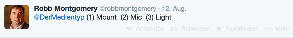 """Robert Montgomery empfiehlt im Blog """"dermedientyp"""" seine Top-3 Smartphone-Accessoires."""