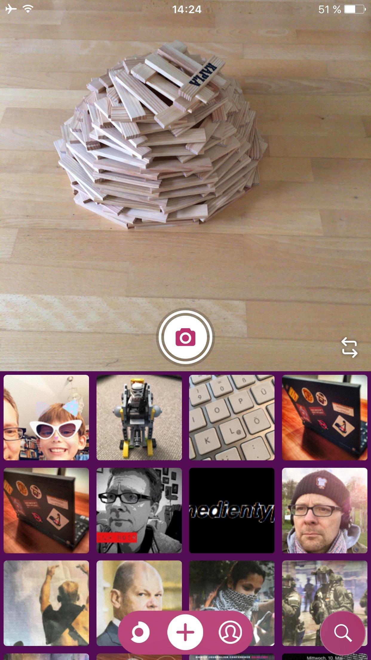The iOS app Soundcircles combines photos with sound – dermedientyp