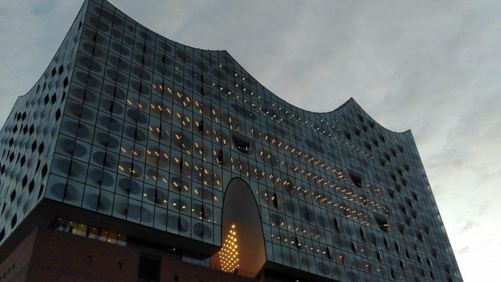 dermedientyp testet das Nokia 4.2: Foto von Elbphilharmonie.