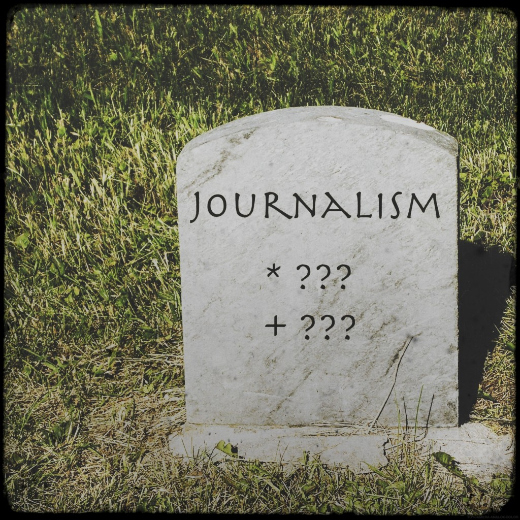Journalism isn't finished yet - Bernhard Lill replies to Michael Rosenblum