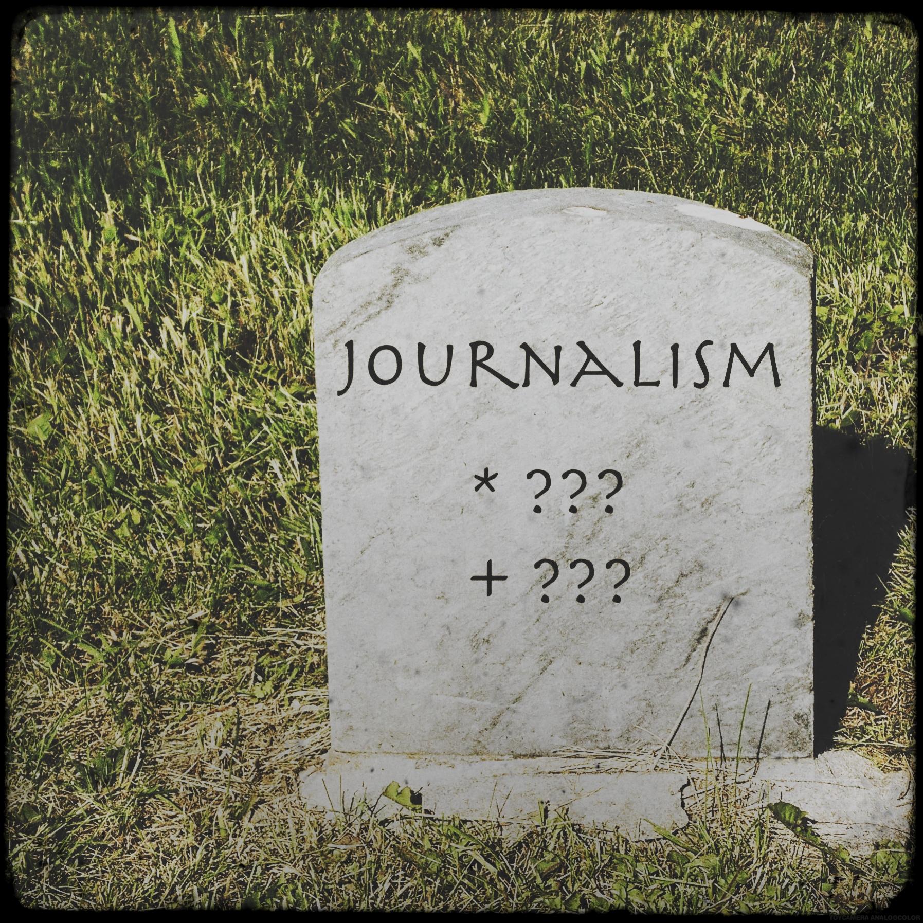 Journalism isn't finished yet - Bernhard Lill replies to Michael Rosenblum