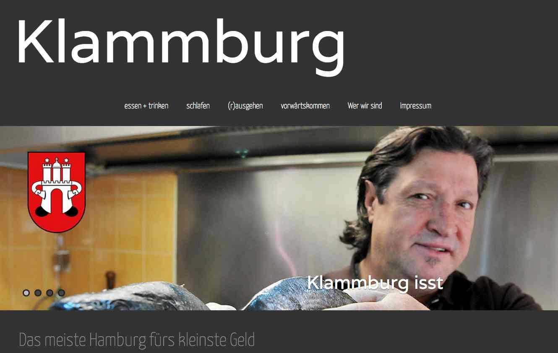 Klammburg ist ein multimediales Dossier, das an der Hamburger Akademie für Publizistik entstanden ist.