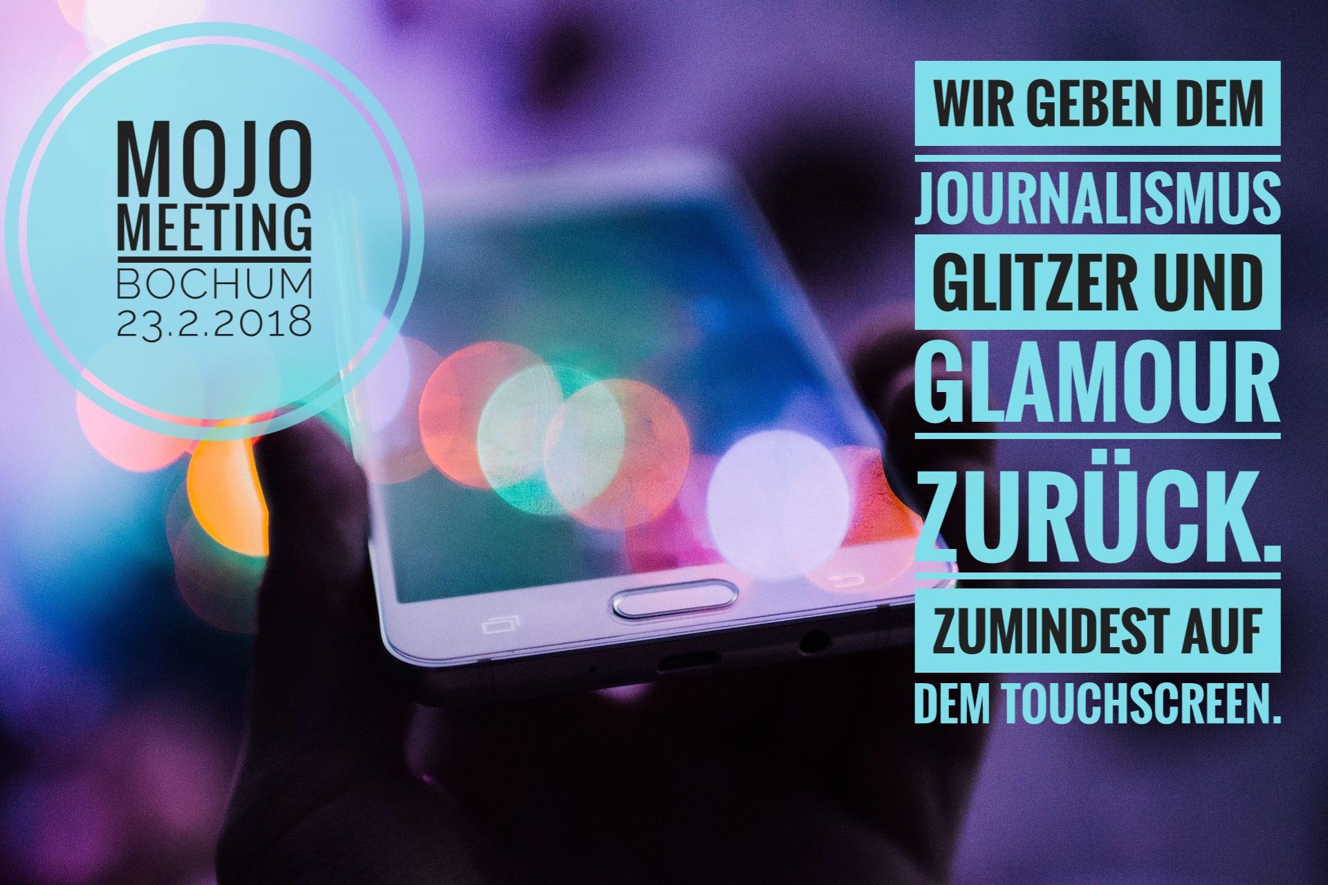Kai Rüsberg und Bernhard Lill organisieren das #MojoMeeting in Bochum.