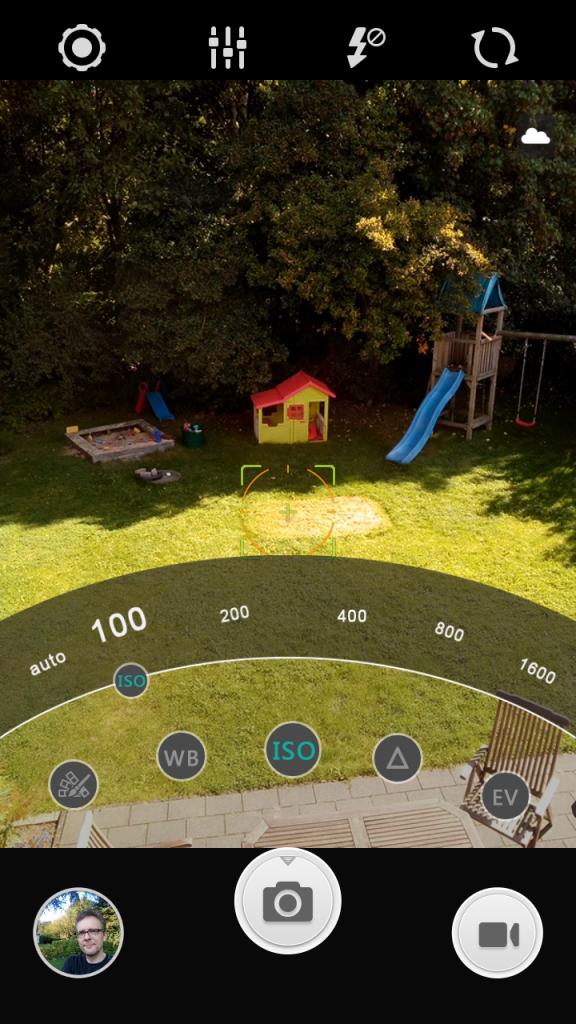 Bernhard Lill testet die Kamera-App des Lenny 3.