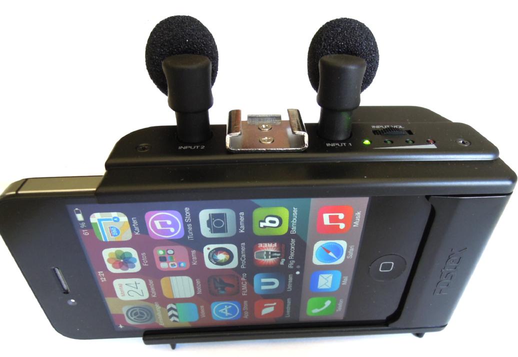 Das Fostex AR-4i ist ein Audio-Interface fürs iPhone4 und 4s.