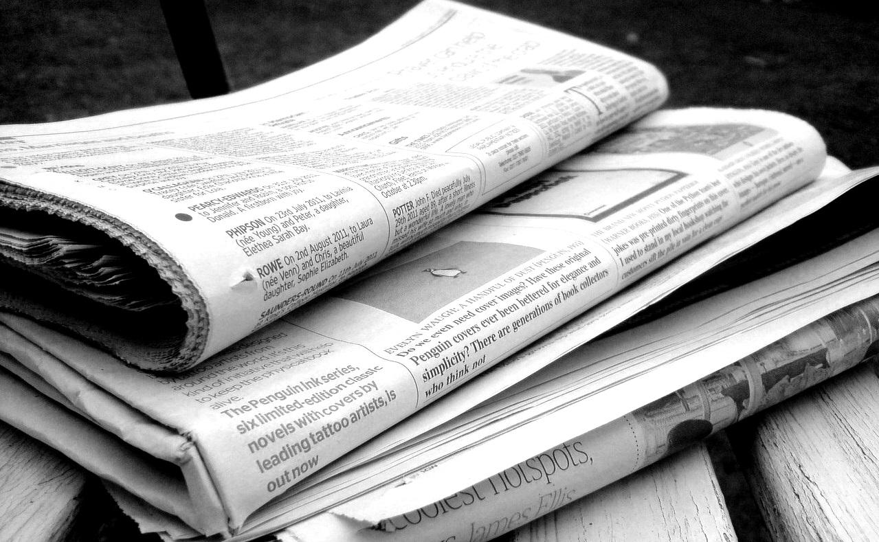 Krise: Lokalzeitungen verlieren in Deutschland kontinuierlich an Auflage.